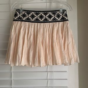 Free People One Mini Skirt